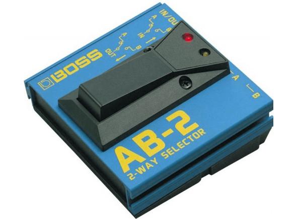 Comutador/Comutadores BOSS AB-2 Pedal Comutador 2 Canais