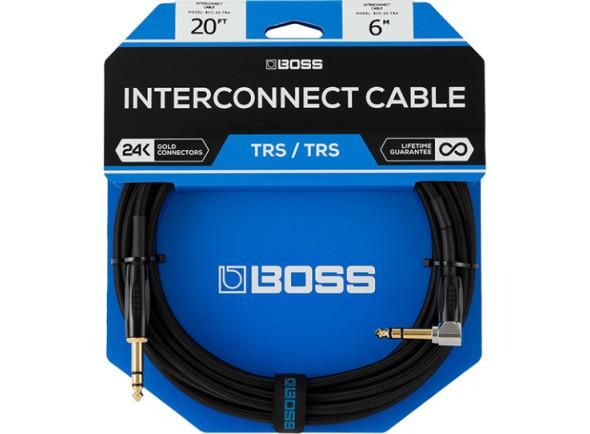 Cabo de Instrumento/Cabo para Instrumento BOSS BCC-3-TRA Jack 1m