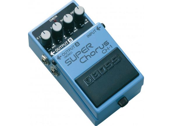 Pedal de Efeito Chorus /Chorus/ Flanger/ Phaser BOSS CH-1 SUPER Chorus
