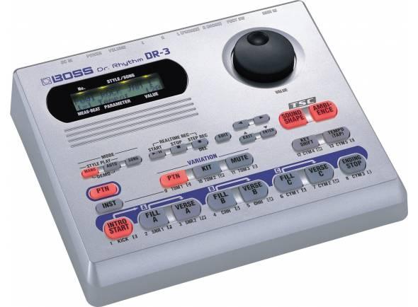 Caixa de Ritmos/Sintetizadores e Samplers Boss DR-3