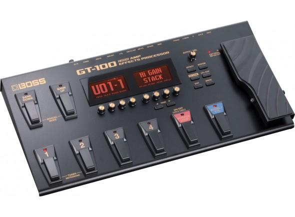 Pedaleira para Guitarra Elétrica/Pedaleiras para guitarra elétrica BOSS GT-100 Pedaleira Multi-Efeitos