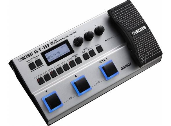Pedaleiras de efeitos para baixo Boss GT-1B Bass Multi-FX Pedal