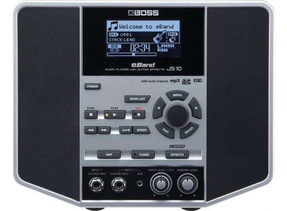 Processador de Efeitos/Combos a pilhas/bateria BOSS JS-10 Audio Player Guitar Effects