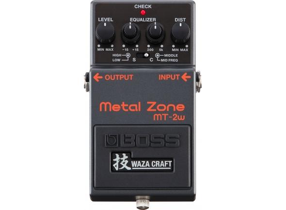 Pedal de distorção analógica/Pedal de distorção Boss MT-2W Metal Zone
