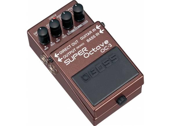 Outros efeitos para guitarra elétrica Boss OC 3