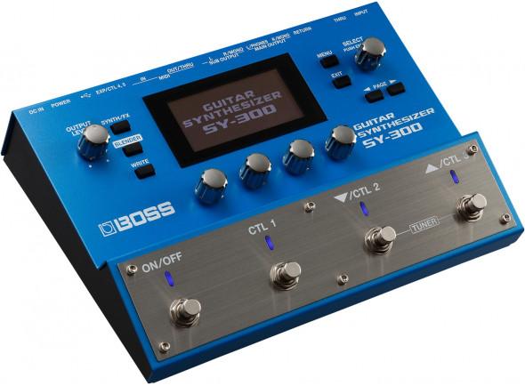 Sintetizador para guitarra e baixo/Sintetizadores para guitarras e baixos BOSS SY-300 Sintetizador de Guitarra e Baixo