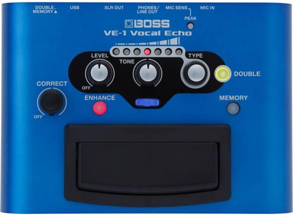Processadores para vocalistas BOSS VE-1 Vocal Echo