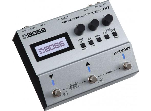 Processador de Voz/Processadores para vocalistas BOSS VE-500 Pedal Processador de Voz Premium