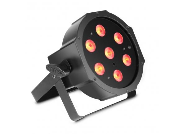 Projector LED PAR Cameo Flat PAR 1 RGBW IR Bk