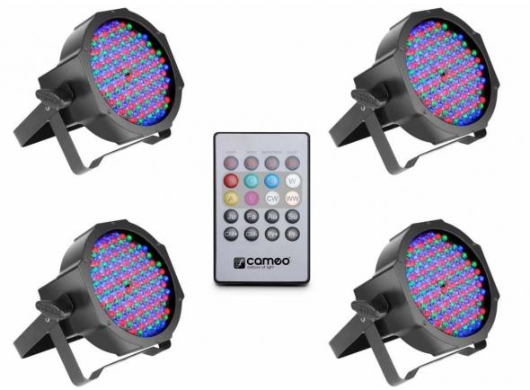 Luzes LED/Kits de luzes Cameo Flat PAR RGB 10 Bundle