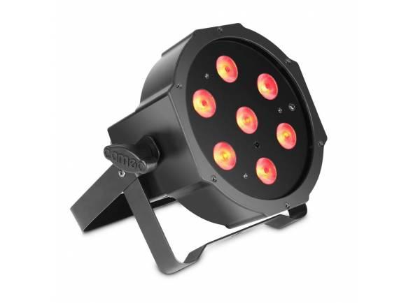 Projector LED PAR Cameo Flat Par RGB 7 x 3W
