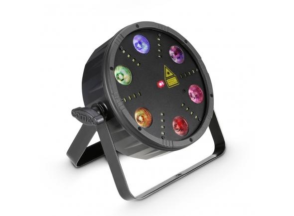 Projector LED PAR Cameo Flat Storm 3-in-1