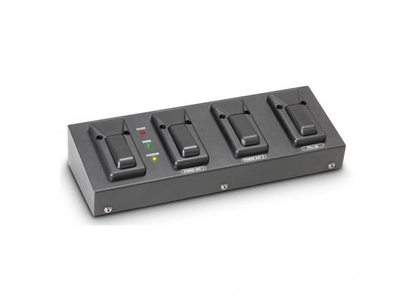 Controlador de luz multipar/Acessórios para equipamentos led Cameo Multipar Foot Plus
