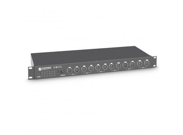Controlador de Luzes Cameo  SB 6 Dual DMX Splitter/Booster
