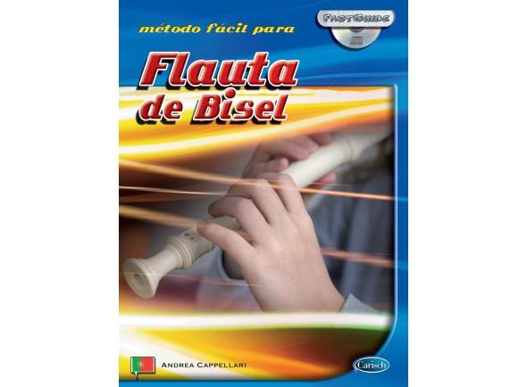 Método para aprendizagem/Livros para flauta Carisch Método Fácil para Flauta de Bisel com CD