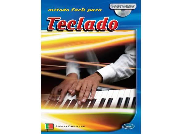 Método para aprendizagem/Livros de teclado Carisch Método Fácil para Teclado com CD