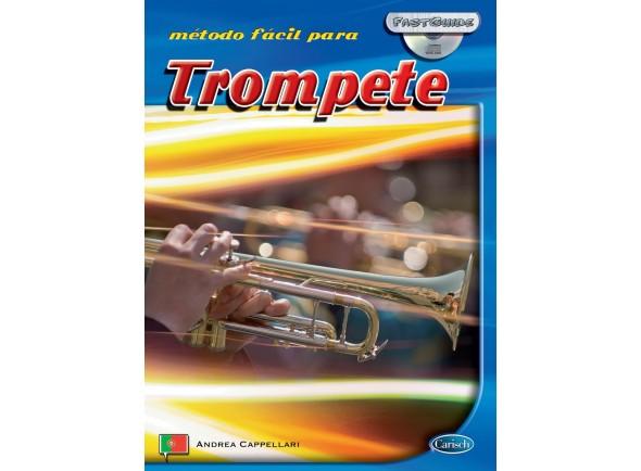Método para aprendizagem/Livros de trompete Carisch Método Fácil para Trompete com CD