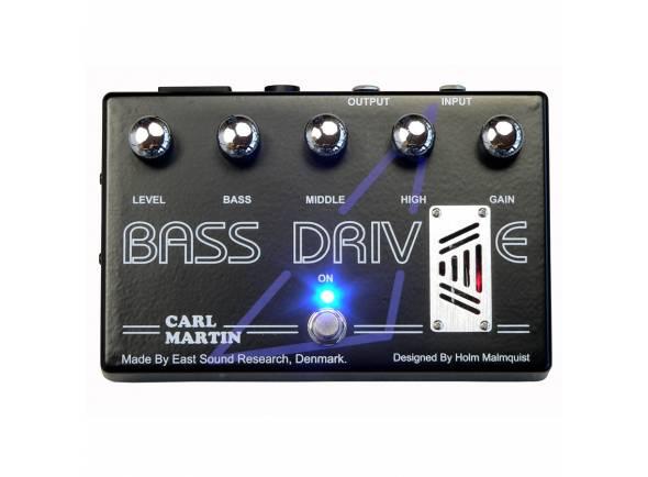 Pedal de Drive/Pedais para baixo Carl Martin BassDrive