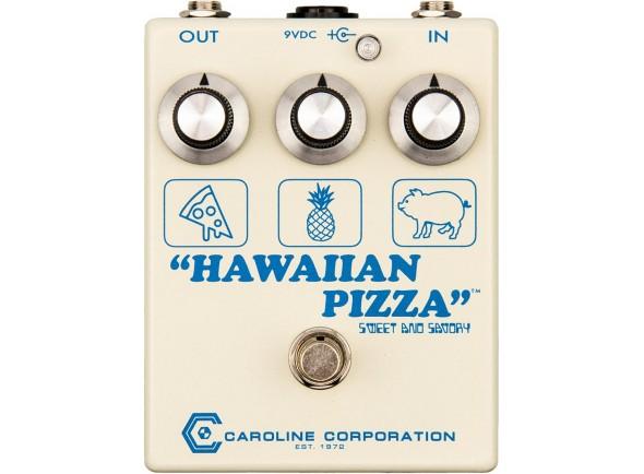 Pedal de Efeito Fuzz/Outros efeitos para guitarra elétrica Caroline Guitar Company Hawaiian Pizza