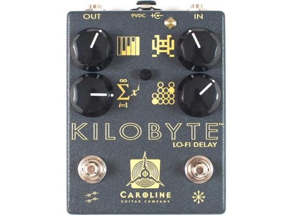 Pedal de Efeito Delay/Delays / Echos Caroline Guitar Company Kilobyte