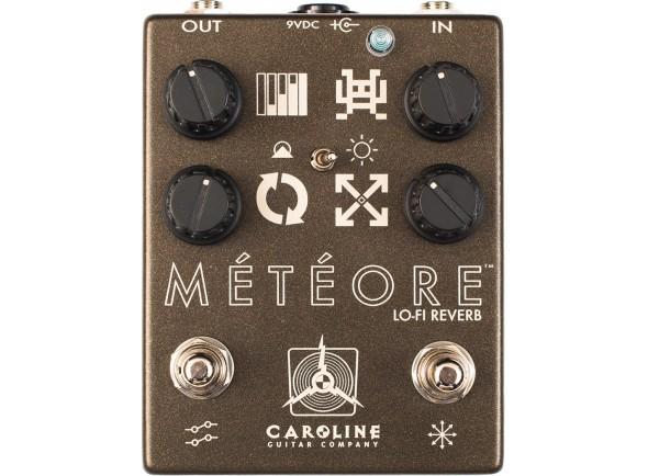 Pedal de Efeito Reverb/Efeitos reverb e hall Caroline Guitar Company Météore