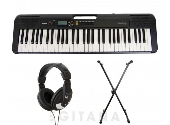 Teclado portátil /Teclados Casio CT-S200 BK Pack