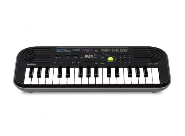 Pianos Digitais Portáteis  Casio  SA 47