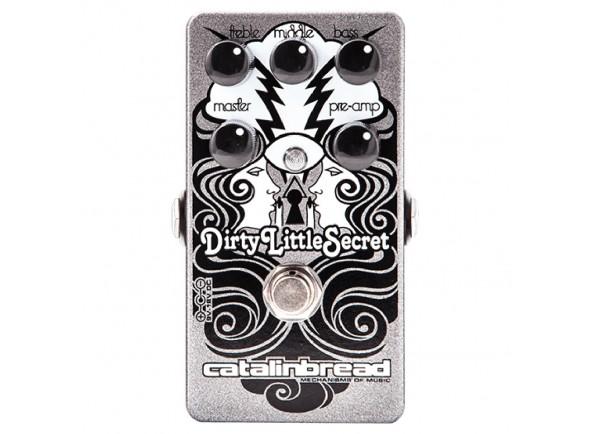 Pedal de Efeito Overdrive/Outros efeitos para guitarra elétrica Catalinbread Dirty Little Secret