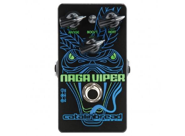 Pedal de Efeito Booster/Outros efeitos para guitarra elétrica Catalinbread Naga Viper