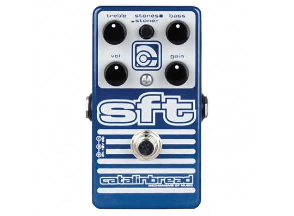 Pedal de Efeito Overdrive/Outros efeitos para guitarra elétrica Catalinbread SFT
