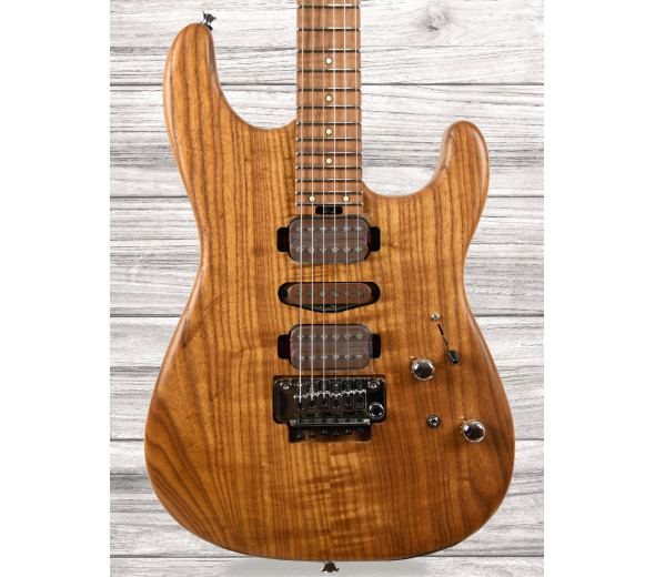 Guitarras Charvel Guitarra Elétrica Assinatura Guthrie Govan/Guitarras formato ST Charvel Guthrie Govan HSH Cooked Ash