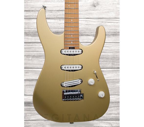 Guitarras formato ST Charvel Pro-Mod DK22 SSS 2PT CM Pharaohs Gold