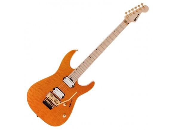 Guitarras Charvel Guitarras formato ST Charvel Pro-Mod DK24 HH FR Dark Amber
