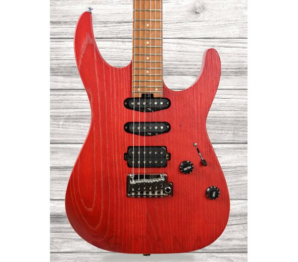 Guitarras Charvel Guitarras formato ST Charvel Pro-Mod DK24 HSS 2PT CM Ash Red Ash