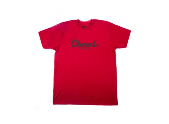 T-shirts Charvel Toothpaste Logo Tee, Red, L