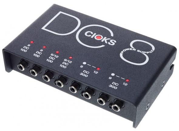 Fonte de alimentação para pedais de efeitos/Outros efeitos para guitarra elétrica Cioks DC8
