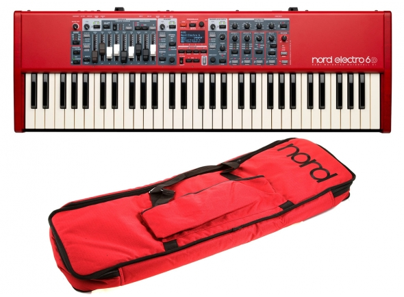 Pianos de palco Clavia Nord Electro 6D 61 Bag Bundle