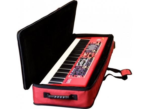 Estojo de transporte para piano/Estojos para Teclados Clavia Nord Soft Case 76