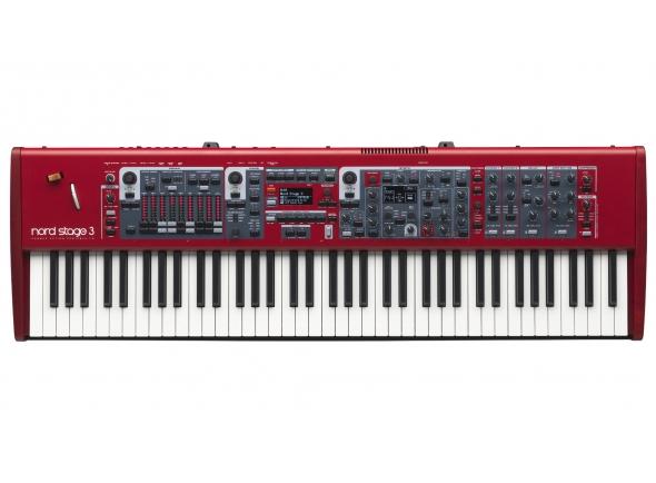 Pianos de palco Clavia Nord Stage 3 HP76 B-Stock