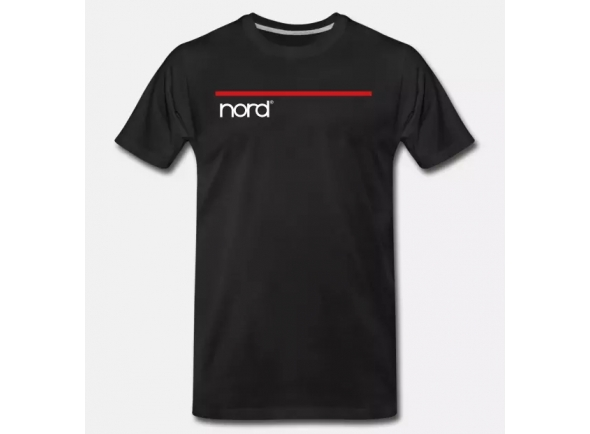 T-Shirt/T-shirts Clavia Nord T-Shirt Black S