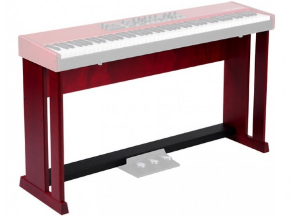 Suporte de teclado Clavia Nord Wood Keyboard Stand V2
