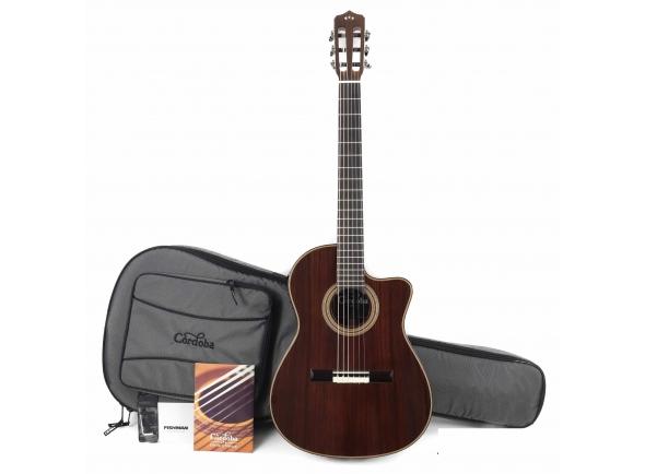 Guitarra Clássica Cordoba 14 Rose