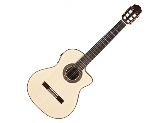Guitarra Clássica Cordoba 55FCE Negra Macassar