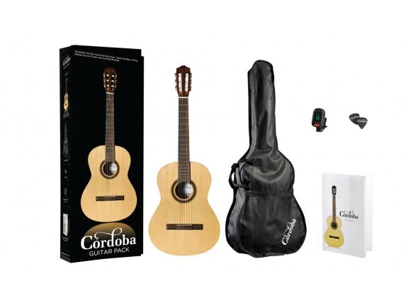 Pack de Guitarra Clássica/Guitarra Clássica Cordoba CP100 Guitar Pack