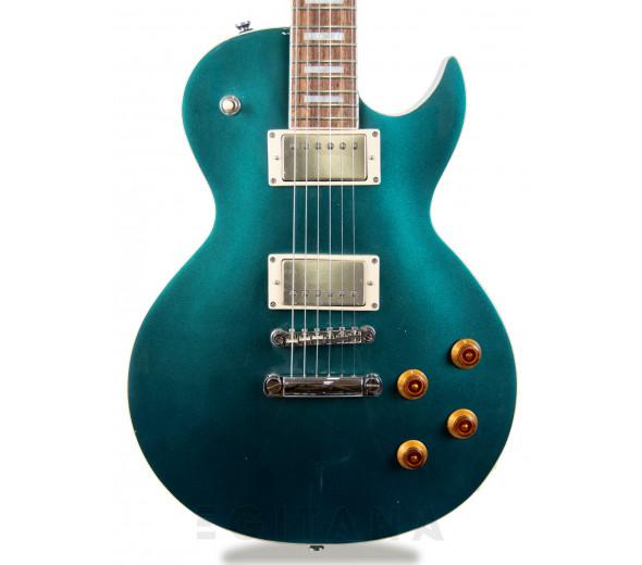 Guitarra elétrica Single Cut/Guitarras formato Single Cut Cort Classic Rock CR200 Flip Blue