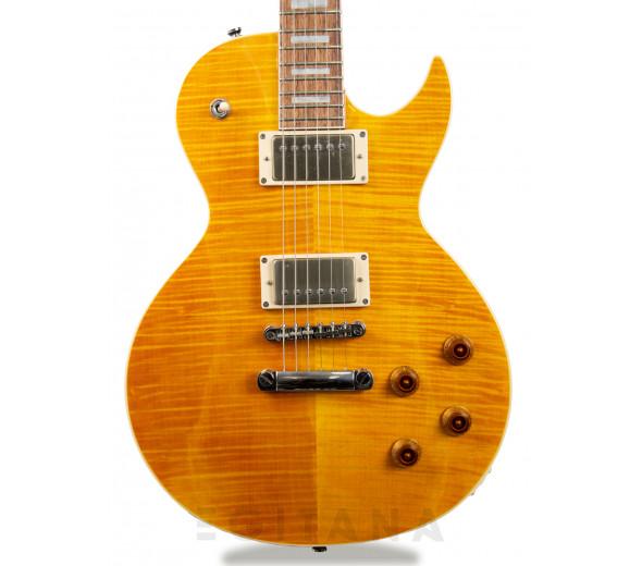Guitarra elétrica Single Cut/Guitarras formato Single Cut Cort Classic Rock CR250 Amber