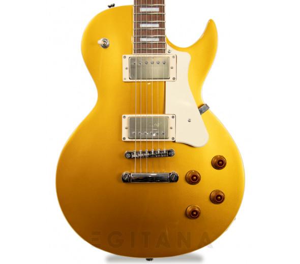 Modelo LP/Guitarras formato Single Cut Cort Classic Rock CR200 GT