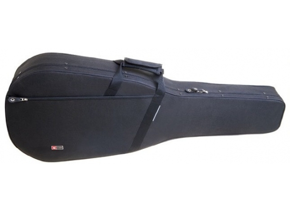 Estojo guitarra clássica/Saco para guitarra clássica Crossrock CRP100C Black