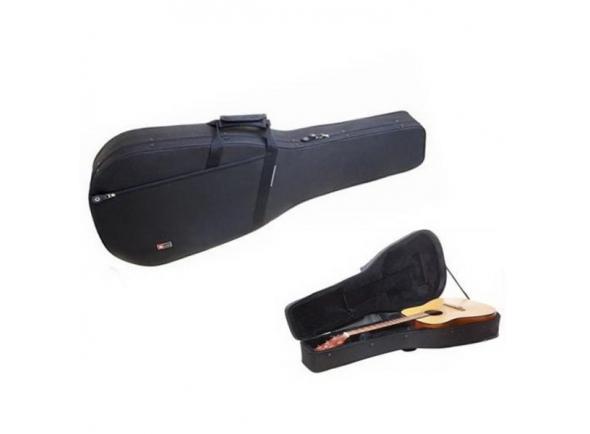 Estojo para guitarra clássica Crossrock CRP100D