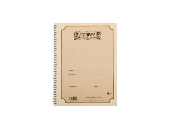 Caderno pautado/Método para aprendizagem D´Addario Caderno Pautado Espiral Archives Manuscript B10S-96